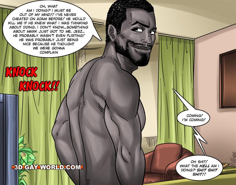 Gay comic porno