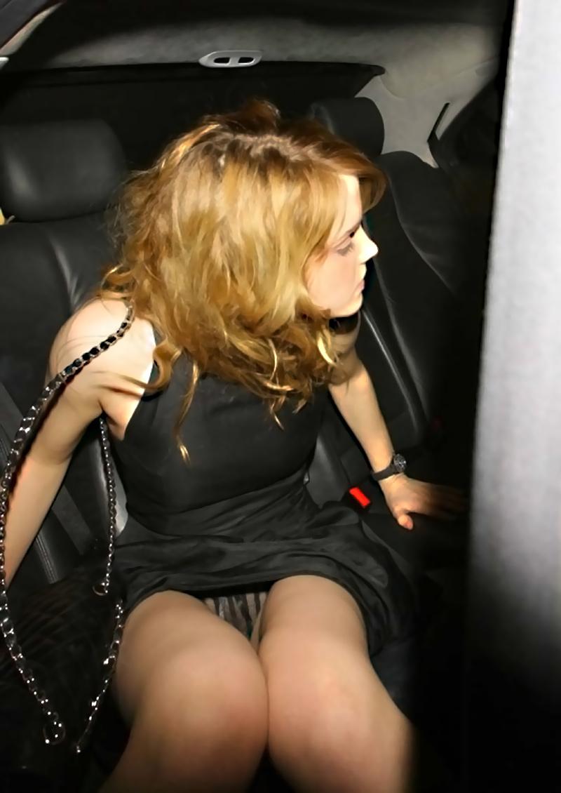 Upskirt emma watson Emma Watson