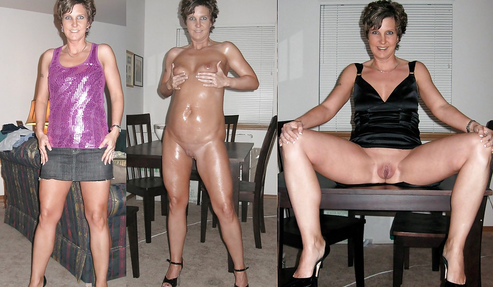 Before and after nude