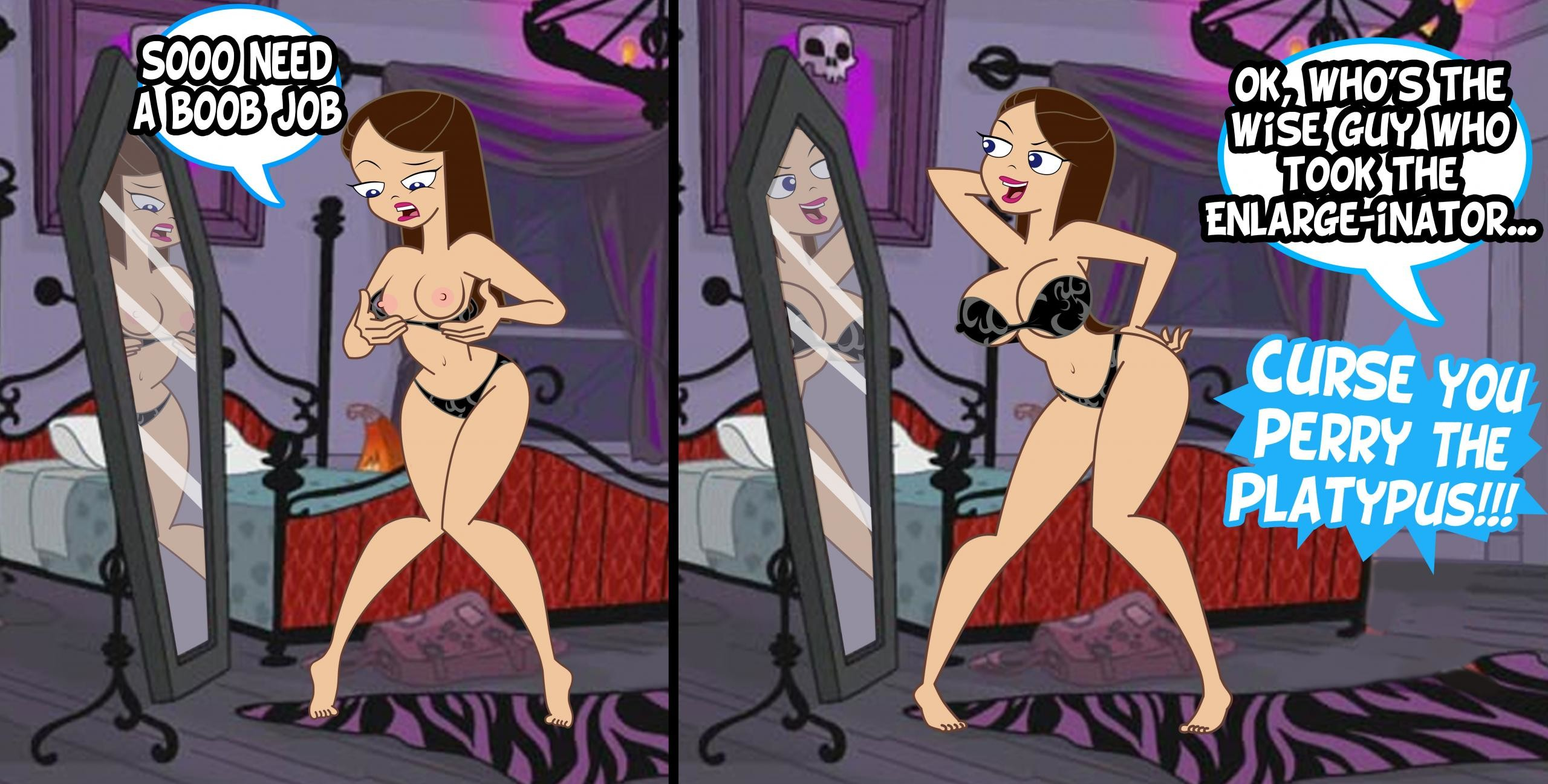 Phineas ferb nackt und vanessa Vanessa Doofenschmirtz