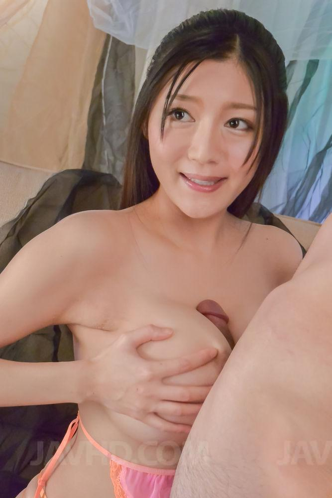 Big boobs asian suck dick and facial