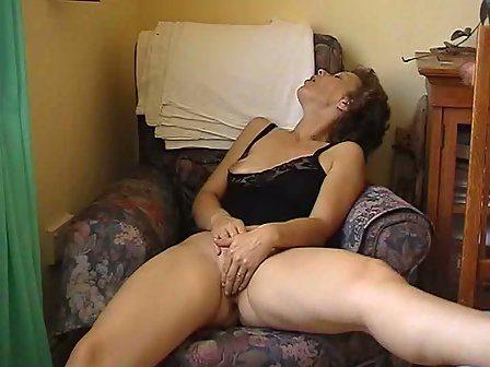 Milf naked masturbate cock load cumm on face