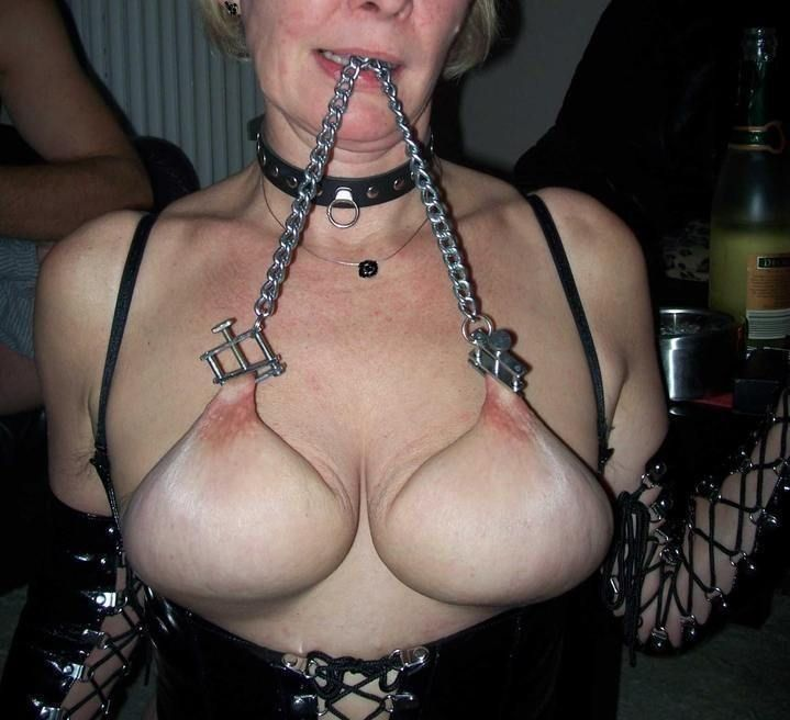 best of Torture tit Homemade pictures bdsm