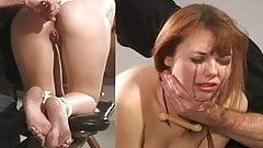 Rough daddy punishment anal
