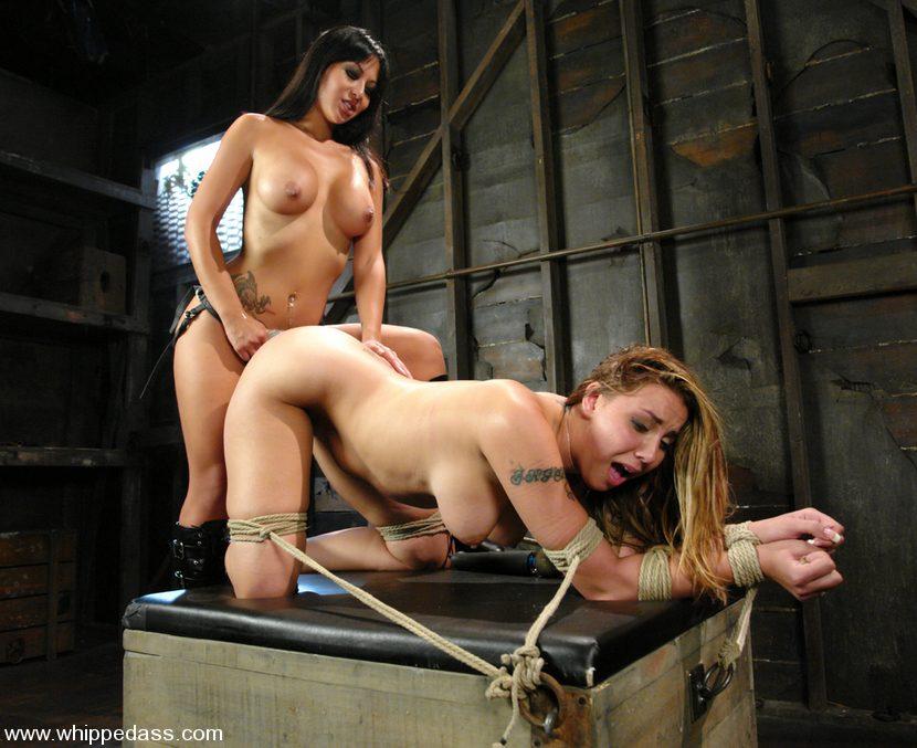 The B. reccomend Lesbian bondage whipping