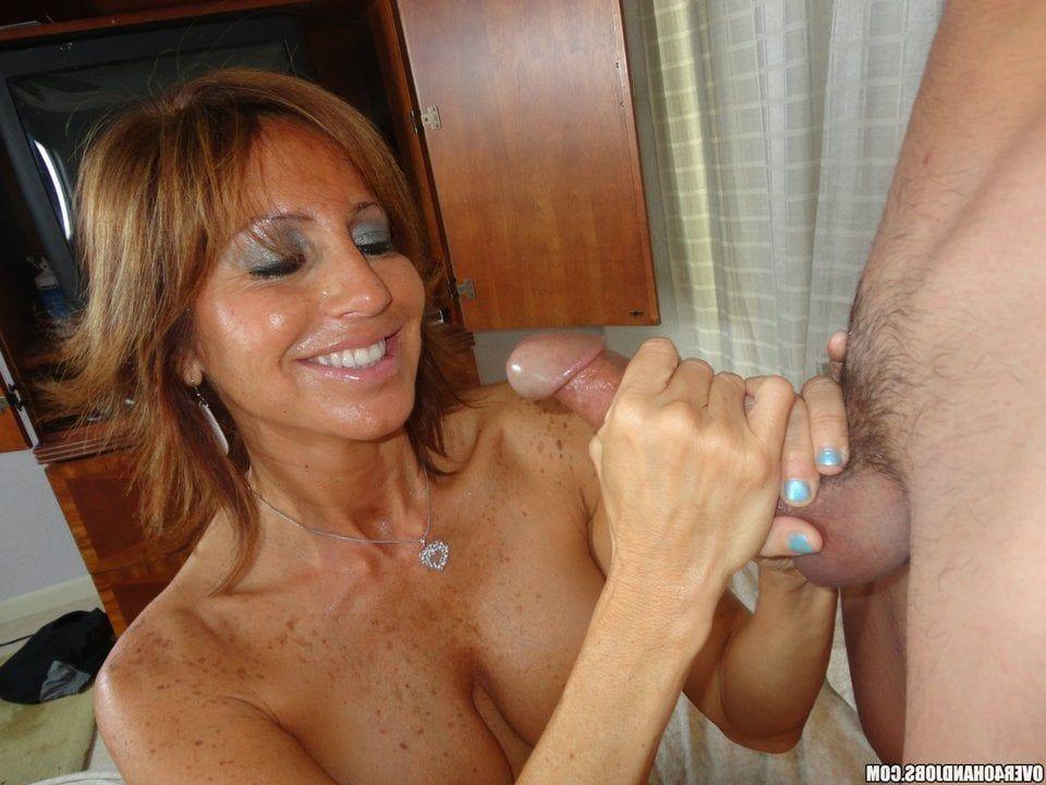 Nudist woman handjob cock orgy