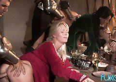 General recommendet brunette slave masturbate dick orgy