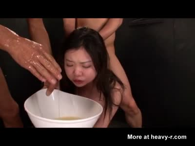Blowjob choke on vomit