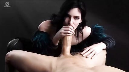 Female twerking blowjob penis load cumm on face