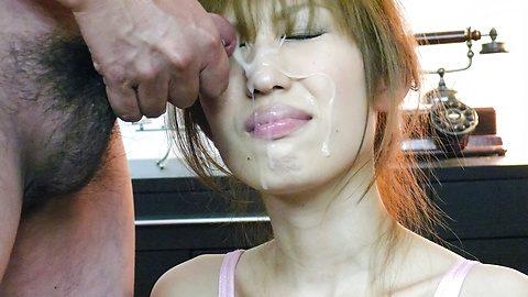 best of On load butt blowjob cock japanese face cumm