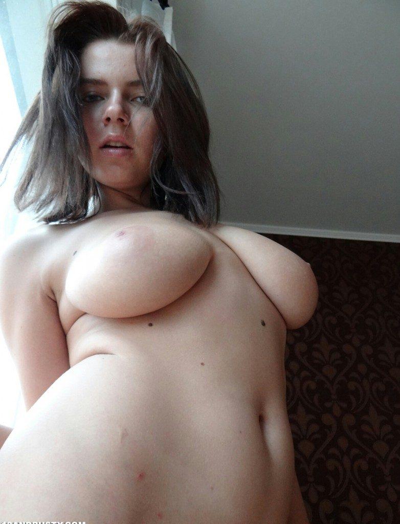 Busty Marina Visconti Solo Masturbation. Big Tits porno
