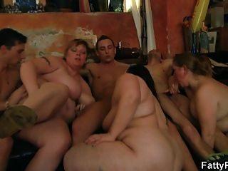 Bar orgy