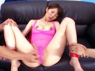 Bondages japanese lick dick and facial