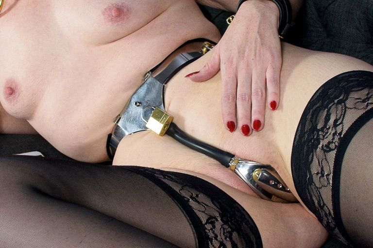 Chastity belt female bdsm