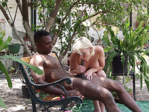 Hammer reccomend interracial outdoor blowjob