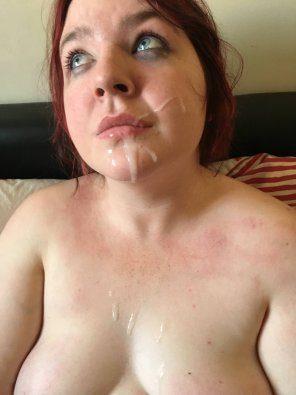 Facial slut