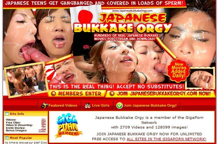 best of Bukkake orgy asian male Asian