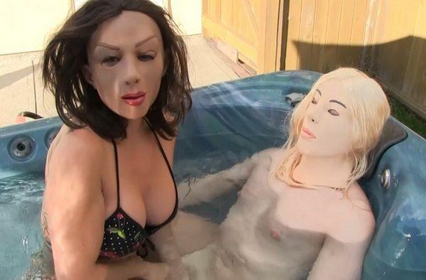 Dingo reccomend femdom handjob mask