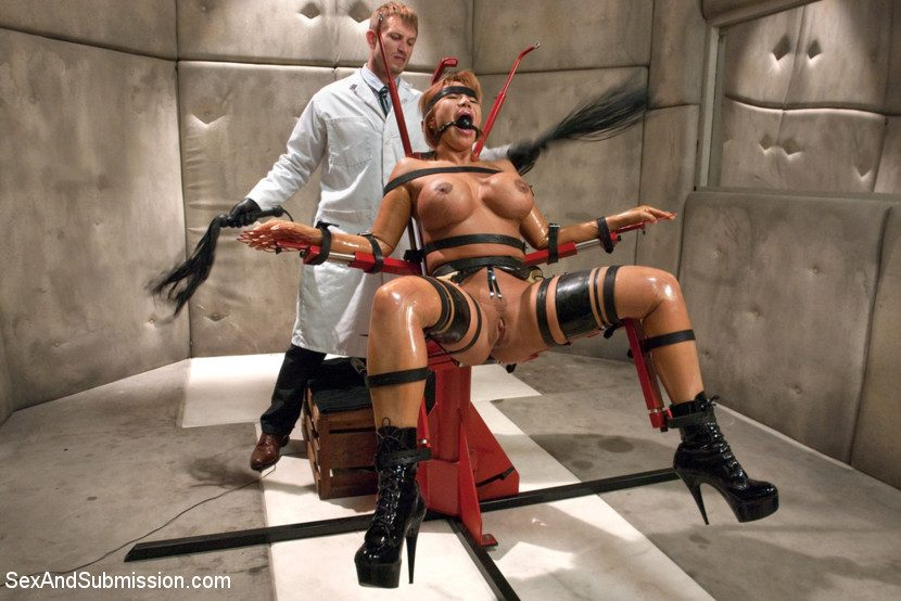 Mad scientist and doctor bdsm